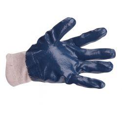 Rękawice powlekane nitryl niebieski JOKI