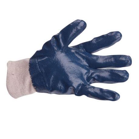 Rękawice robocze powle.nitryl niebieski JOKI