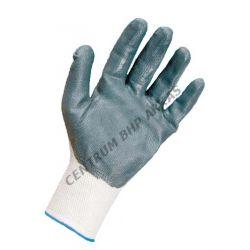 Rękawice robocze powle.nitryl szary