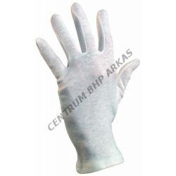 Rękawice robocze bawełniane - wkłady białe FAWA
