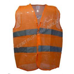 Kamizelka ostrzegawcza siatkowa pomarańczowa